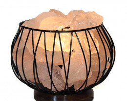 Clear Quartz Rocks Relaxing Amore Lamp