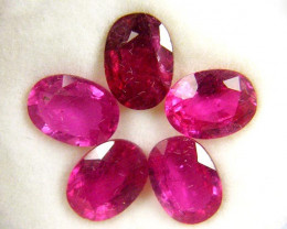 7X5MM MM PARCEL AFRICAN RUBY 5.10 CARATS TW 1073