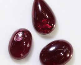 36 Cts 3x Garnet from mozambique africa  NA151