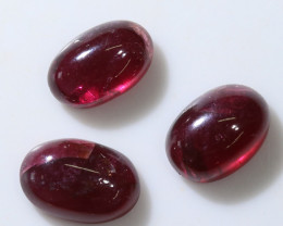15.9 Cts 3x Garnet from mozambique africa  NA153