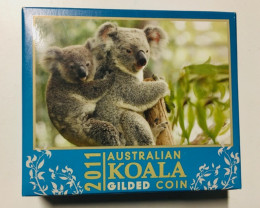 Australian Koala 2011 1oz Silver Proof High Relief Coin