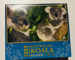 Australian Koala 20091oz Silver Proof High Relief Coin