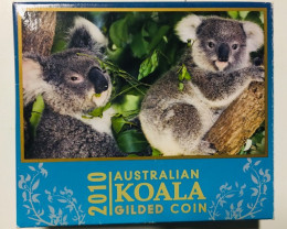 Australian Koala 2010 1oz Silver Proof High Relief Coin