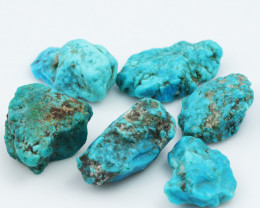 133 Cts 6x Parcel Turquoise  Specimens from King Man  NA177
