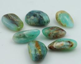 108 Cts 7x Parcel Peru blue Opal  NA184