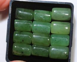 53 Cts parcel rectangular jade Gemstones NA233