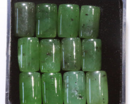 50 Cts parcel rectangular jade Gemstones NA239