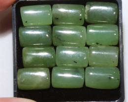 60 Cts parcel rectangular jade Gemstones NA244