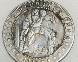 Hobo Coin Ironman  Art Form Design   CP 448