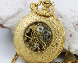 FOB pocket watch ,open workings NA 247