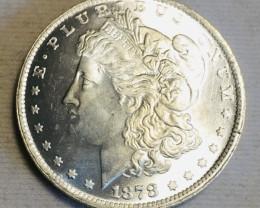 Collectible Hobo Morgan 1878 Coin CP 490