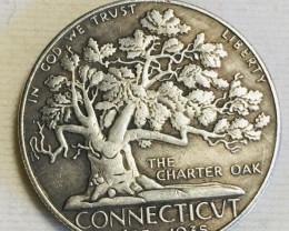 Collectible Hobo The Charter Oak Coin CP 491