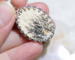 Natural Million years  fern fossil Pendant NA 318