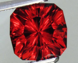 Natural Garnet Custom Cut  2.96 carats