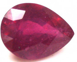 1.90 Cts  Faceted Ruby  Gemstone - RA1671