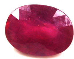 1.55 Cts  Faceted Ruby  Gemstone - RA1635