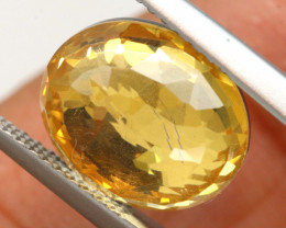 4.05 CTS - CITRINE  DOUBLED FACETED  RJA- 1093