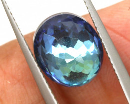 3.90 CTS - TOPAZ DOUBLED FACETED  RJA-1096