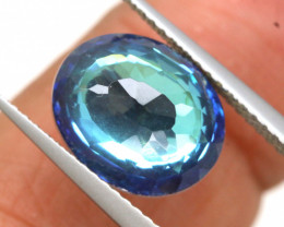 3.45 CTS - TOPAZ DOUBLED FACETED  RJA- 1097