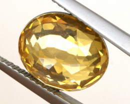 3.85 CTS - CITRINE DOUBLED FACETED  RJA- 1102