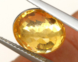 3.85 CTS - CITRINE  DOUBLED FACETED  RJA- 1108