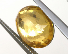 3.45 CTS - CITRINE  DOUBLED FACETED  RJA- 1111