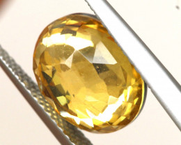 3.70 CTS - CITRINE  DOUBLED FACETED  RJA- 1112