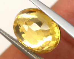 3.85 CTS - CITRINE  DOUBLED FACETED  RJA- 1113