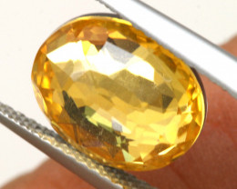 3.45 CTS - CITRINE  DOUBLED FACETED  RJA- 1114