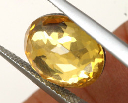 4.05 CTS - CITRINE  DOUBLED FACETED  RJA- 1115