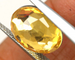 3.50 CTS - CITRINE  DOUBLED FACETED  RJA- 1116