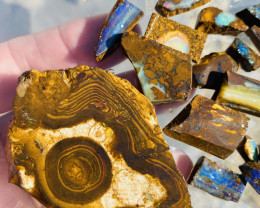 590  Cts Queensland Boulder opal rough Parcel  CH 368