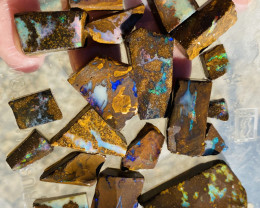 364 Cts Queensland Boulder opal rough Parcel  CH 371