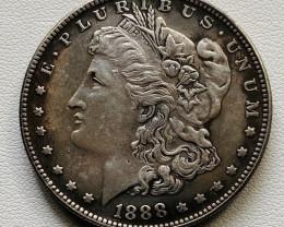 Hobo Coin Morgan Art Form Design   CP 520