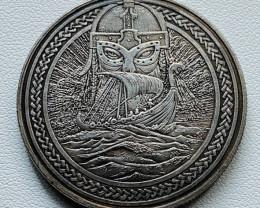 Hobo Coin Viking  Art Form Design   CP 526