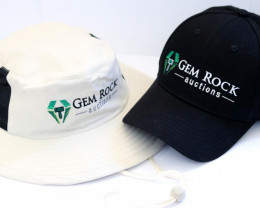 Gemrockauctions Baseball Cap and Bushmans Hat  x two items