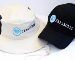 Treasures  Baseball Cap and Bushmans Hat  x two items