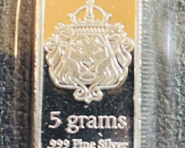 One Scottsdale 5 Grams starters Silver .99 grams Great  kids Gift