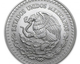 2016 UNC MEXICAN LIBERATED HALF OUNCE SILVER BULLION COIN