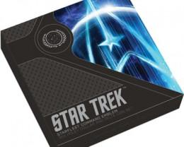 Starfleet Command Emblem Silver Holey Dollar & Delta Coin Set 3 ounces 2019