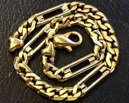 17.7  Grams  18K Quality Italian Gold Bracelet    code GB2
