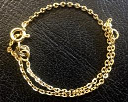 0.90 Grams 9 K Gold Bracelet code L 503