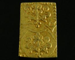 Genuine 1860 Japanese Gold coin Meiji Dynasty Nishuban .73 grams JCC 98