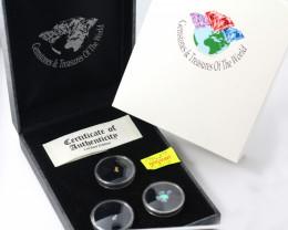 Treasures Collector set Aussie Gold ,Diamonds Opals NA 509