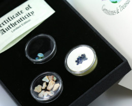 Treasures Collector set  Aussie sapphires and Opals NA 515
