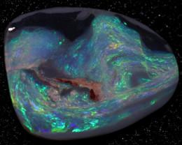 8.40 Cts   Black opal rough Rub  CH 633
