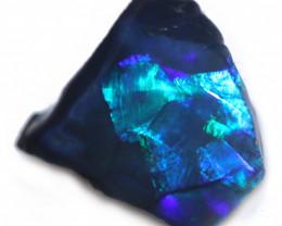 4.20 Cts   Black opal rough Rub  CH 635