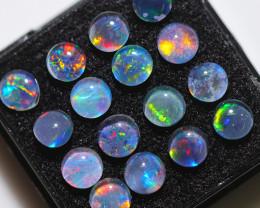 6.8Cts Australian Triplet Opals 5mm  NA 608