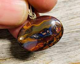 Inlayed quality Australian Koroit opal n NA 623