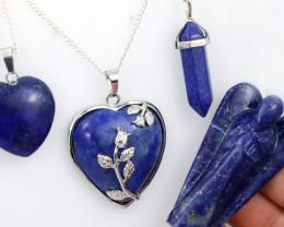 4 pc promotional Royalty Lapis Lazuli jewellery set NA 658